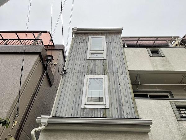 大阪府東大阪市 N様邸 屋根塗装・外壁塗装・付帯部塗装 無料現場調査① 外壁、木部の劣化 (4)