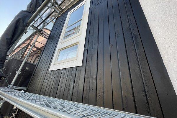 大阪府東大阪市 N様邸 屋根塗装・外壁塗装・付帯部塗装 木部塗装 造膜塗料とは (8)