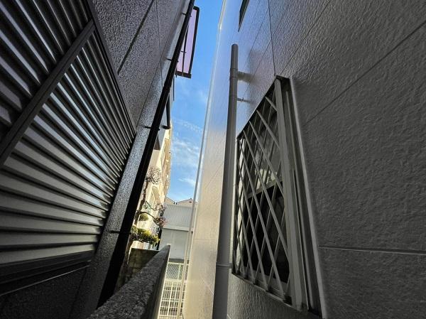 大阪府東大阪市 N様邸 屋根塗装・外壁塗装・付帯部塗装 完工 足場解体 定期訪問サポート (4)