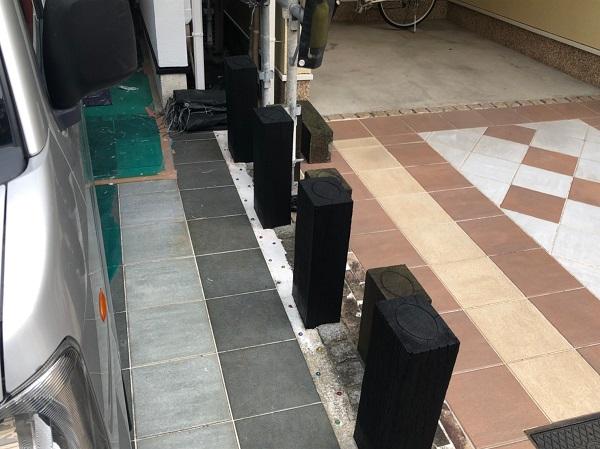 大阪府東大阪市 N様邸 屋根塗装・外壁塗装・付帯部塗装 外構、ポスト塗装 (9)