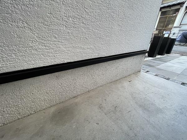 大阪府東大阪市 N様邸 屋根塗装・外壁塗装・付帯部塗装 水切り、雨樋塗装 (3)