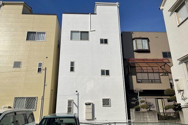 大阪府東大阪市 N様邸 屋根塗装・外壁塗装・付帯部塗装 (1)