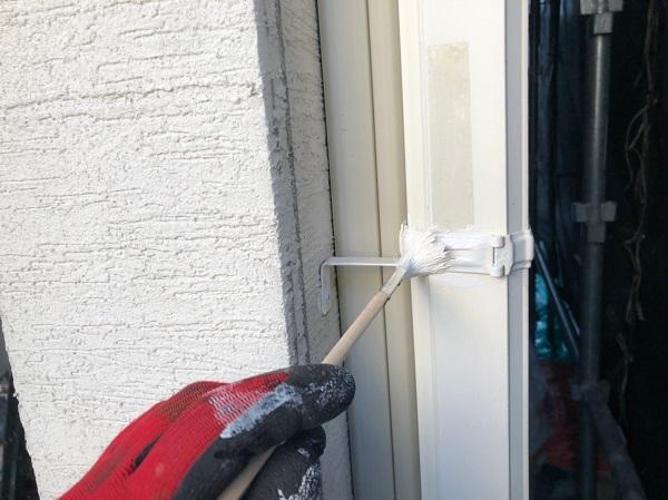 大阪府東大阪市 N様邸 屋根塗装・外壁塗装・付帯部塗装 水切り、雨樋塗装 (8)