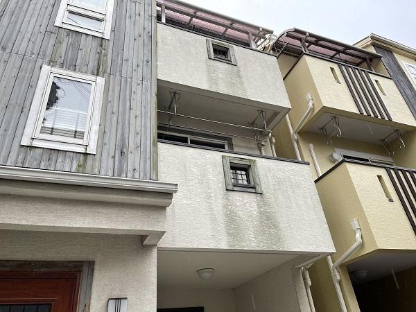 大阪府東大阪市 N様邸 屋根塗装・外壁塗装・付帯部塗装 無料現場調査① 外壁、木部の劣化 (5)