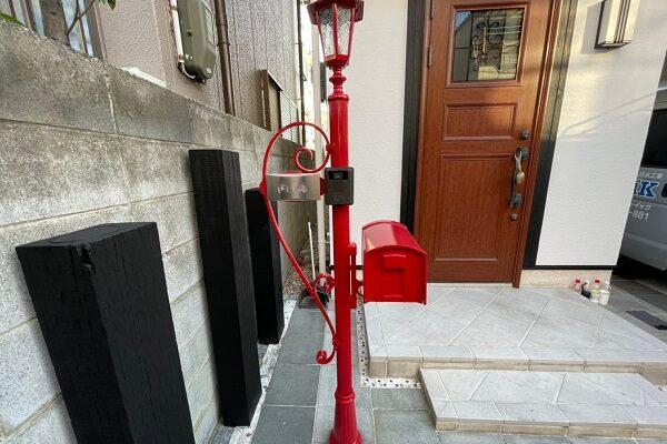 大阪府東大阪市 N様邸 屋根塗装・外壁塗装・付帯部塗装 外構、ポスト塗装 (1)