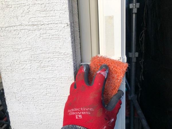 大阪府東大阪市 N様邸 屋根塗装・外壁塗装・付帯部塗装 水切り、雨樋塗装 (9)
