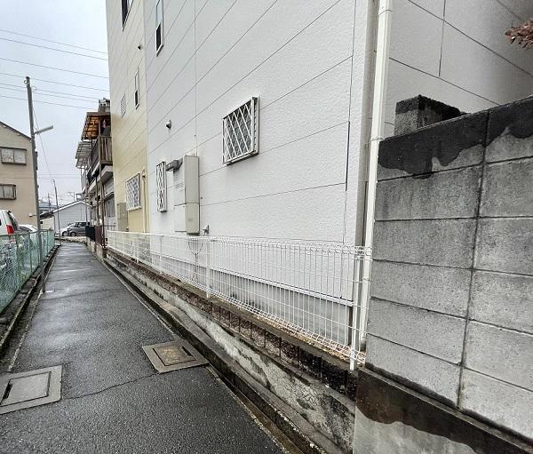 大阪府東大阪市 N様邸 屋根塗装・外壁塗装・付帯部塗装 無料現場調査① 外壁、木部の劣化 (3)
