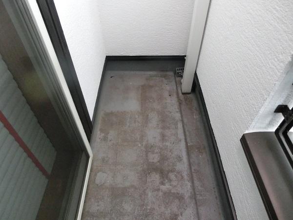 大阪府東大阪市 N様邸 屋根塗装・外壁塗装・付帯部塗装 ベランダ防水工事 FRP工法 (7)