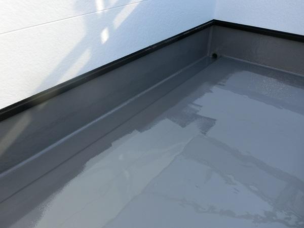 大阪府東大阪市 N様邸 屋根塗装・外壁塗装・付帯部塗装 ベランダ防水工事 FRP工法 (5)