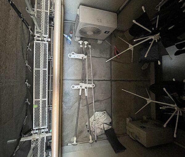 大阪府東大阪市 屋根塗装・外壁塗装 足場設置 飛散防止ネット (9)