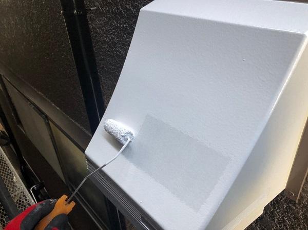 大阪府東大阪市 屋根塗装・外壁塗装 付帯部塗装 換気フードの塗装 (2)