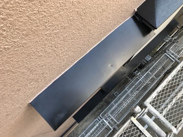 大阪府東大阪市 屋根塗装・外壁塗装 付帯部塗装 庇 (1)