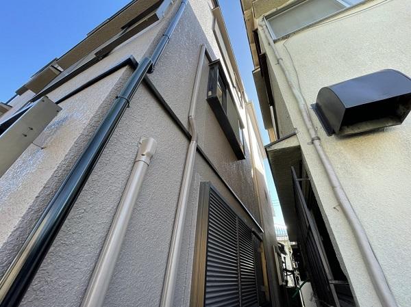 大阪府東大阪市 屋根カバー工法・外壁塗装・付帯部塗装 足場解体 完工 (5)