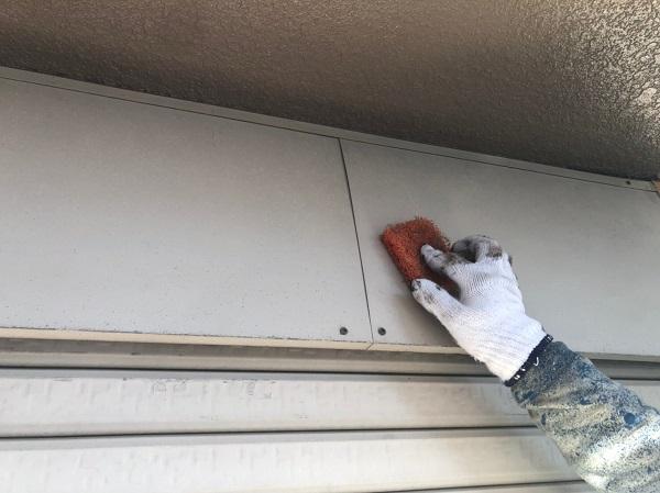 大阪府東大阪市 屋根塗装・外壁塗装 付帯部 ケレン作業とは (2)