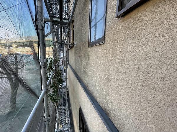大阪府東大阪市 屋根塗装・外壁塗装 足場設置 飛散防止ネット (6)