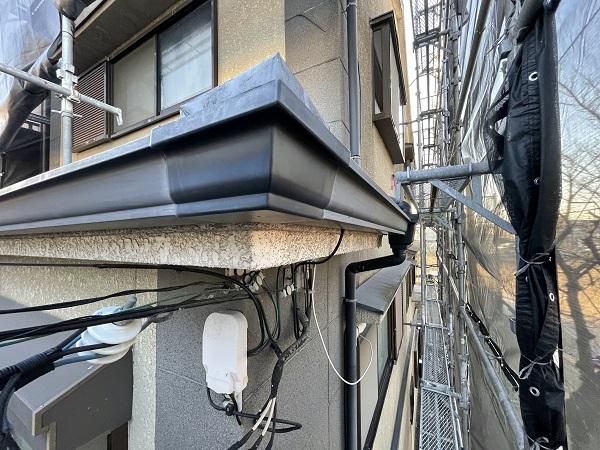 大阪府東大阪市 屋根塗装・外壁塗装 付帯部 ケレン作業とは (3)