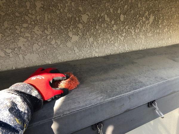 大阪府東大阪市 屋根塗装・外壁塗装 付帯部 ケレン作業とは (5)