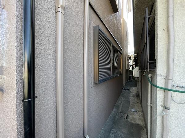 大阪府東大阪市 屋根カバー工法・外壁塗装・付帯部塗装 足場解体 完工 (6)