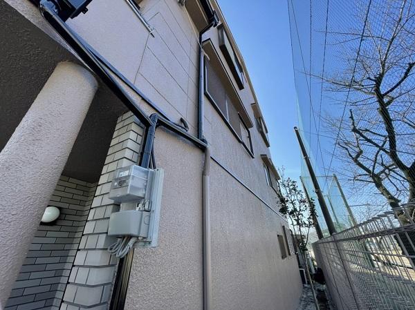 大阪府東大阪市 屋根カバー工法・外壁塗装・付帯部塗装 足場解体 完工 (7)