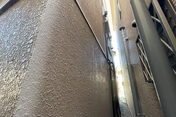 大阪府東大阪市 屋根カバー工法・外壁塗装・付帯部塗装・防水工事 (1)