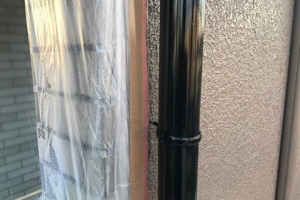 大阪府東大阪市 屋根塗装・外壁塗装 付帯部塗装 雨樋塗装の工程 (1)