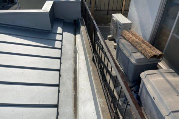 トタン屋根施工前